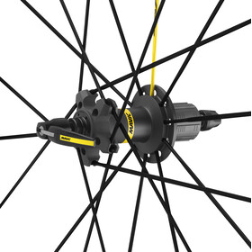 Mavic Ksyrium Pro Exalith Laufradsatz Shimano 25 schwarz